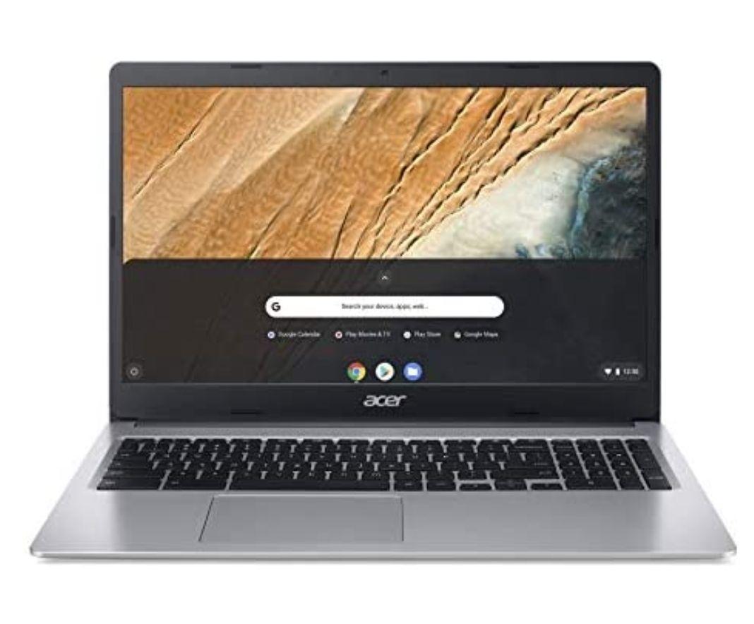 Acer Chromebook 315 (15,6 Zoll Full-HD IPS Touchscreen matt, 19,7mm flach, extrem lange Akkulaufzeit, Google Chrome OS) Silber
