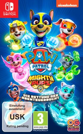 PAW Patrol Mighty Pups: Die Rettung der Abenteuerbucht Nintendo Switch-Spiel
