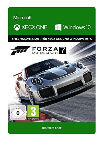 Amazon: Forza Motorsport 7 - Standard Edition   Xbox One und Windows 10 - Download Code