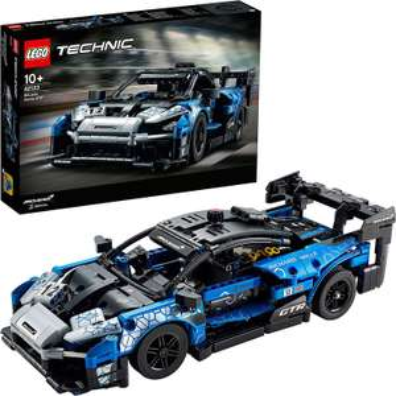 LEGO Technic (42123) McLaren Senna GTR Rennsportwagen - 830 Teile [Amazon & Thalia]