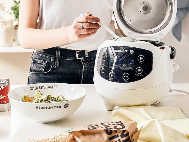 [Westwing KWK] Reiskocher pro für 99€, Reiskocher mini pro + 4* Basmatireis für 73€ (evtl. + 6,90€ VSK) Reishunger