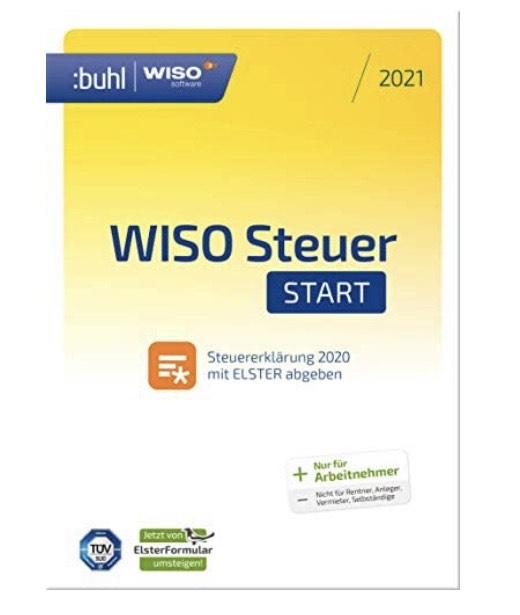 [Amazon] WISO Steuer Start 2021 Steuerausgleich Programm