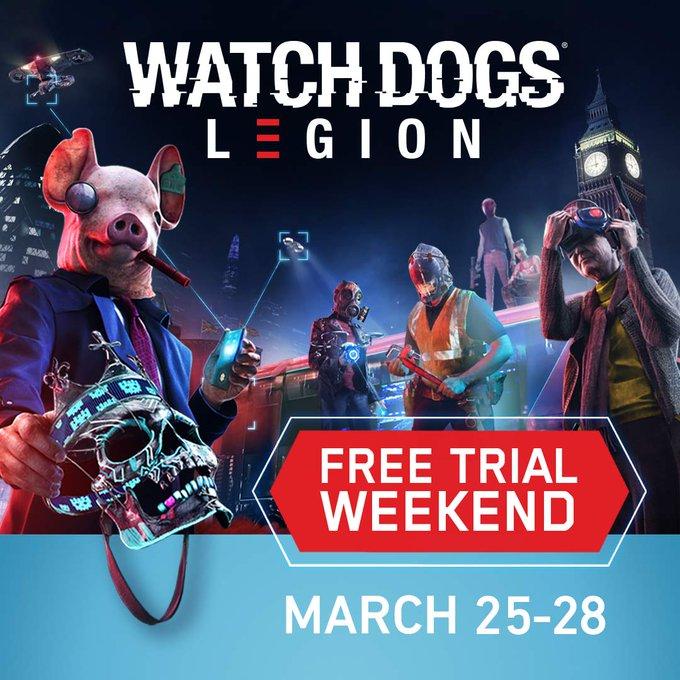 Watch Dogs Legion kostenlos spielen dieses Wochenende (PC, PS4, PS5, Xbox Series X)