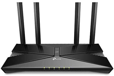 [Amazon] TP-Link Archer AX50 Wi-Fi 6 WLAN Router (2402 Mbit/s 5 GHz, 574 Mbit/s 2,4 GHz, 4 × Gigabit LAN-Ports, 1 × USB 3.0 Port), schwarz