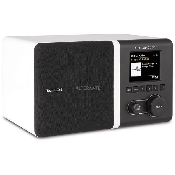 TechniSat DAB+/UKW Uhren-Radio DIGITRADIO 300 C (Equalizer, Lautsprecher + integrierte Bassreflextube) [ALTERNATE]