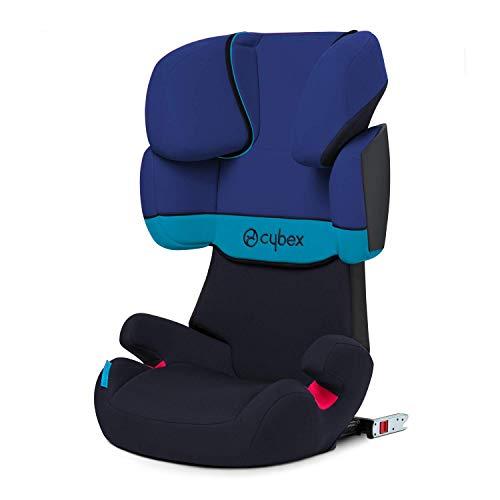 Cybex Silver Solution X-fix, Autositz Gruppe 2/3 (15-36 kg), mit Isofix, Blue Moon (Prime)