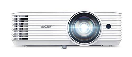 Acer H6518STi Kurzdistanz DLP Beamer Full HD, 1.920 x 1.080 Pixel, 3.500 ANSI Lumen, 10.000:1 Kontrast, 3D Ready, HDMI (HDCP), Audio