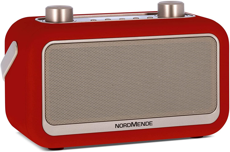 Nordmende Transita 30 Digitalradio (2x 3W, DAB+, UKW, Bluetooth, Wecker, LCD, ausziehbare Antenne, Netz- oder Batteriebetrieb)
