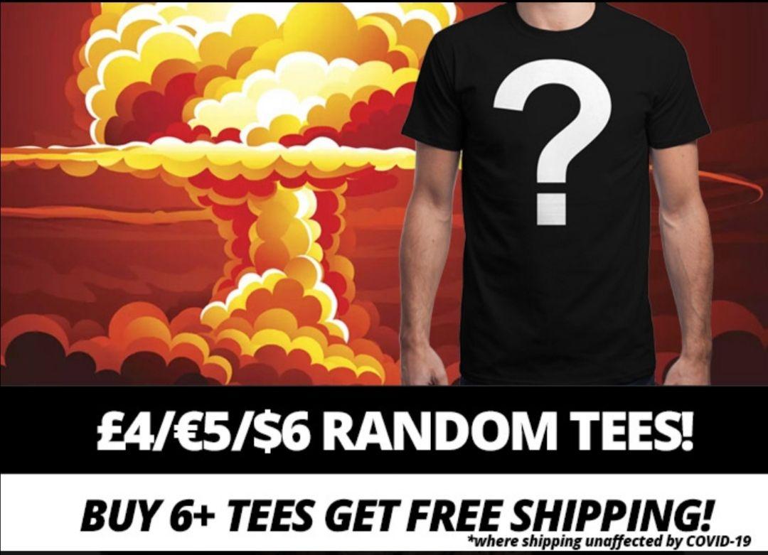 Qwertee insanatee sale - random / zufällige T-shirts