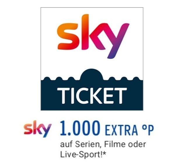 Sky Ticket und Filme durch Payback 1 Monat gratis (eff. mit Gewinn), am 27.03.2021 nur noch für Neukunden (personalisiert)