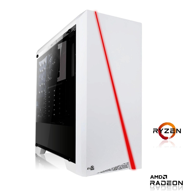 Möchtegern Gaming PC | Allround (Office) PC: AMD Ryzen 3 4300GE | 8GB DDR4 | Radeon Graphics | 128GB SSD NVMe Western Digital