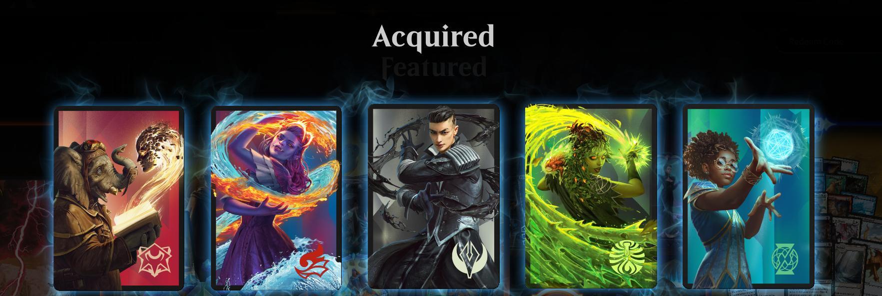 Magic: the Gathering Arena: 5 Kostenlose Kartenrücken