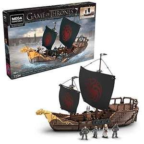 Mega Construx GPB29 - Game of Thrones Targaryen Kriegsschiff