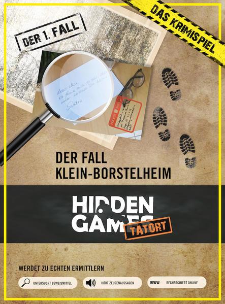 Detektivspiel Hidden Games alle Fälle für nur 19,48€ bei Hugendubel. Das etwas andere Brettspiel