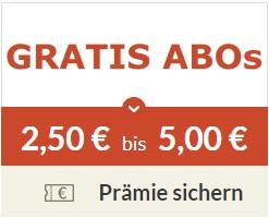 [Spartanien] Gratis Zeitschriften Probeabo + 2,50 € auf das Prämienkonto (max. 2 Abos/5€ möglich)