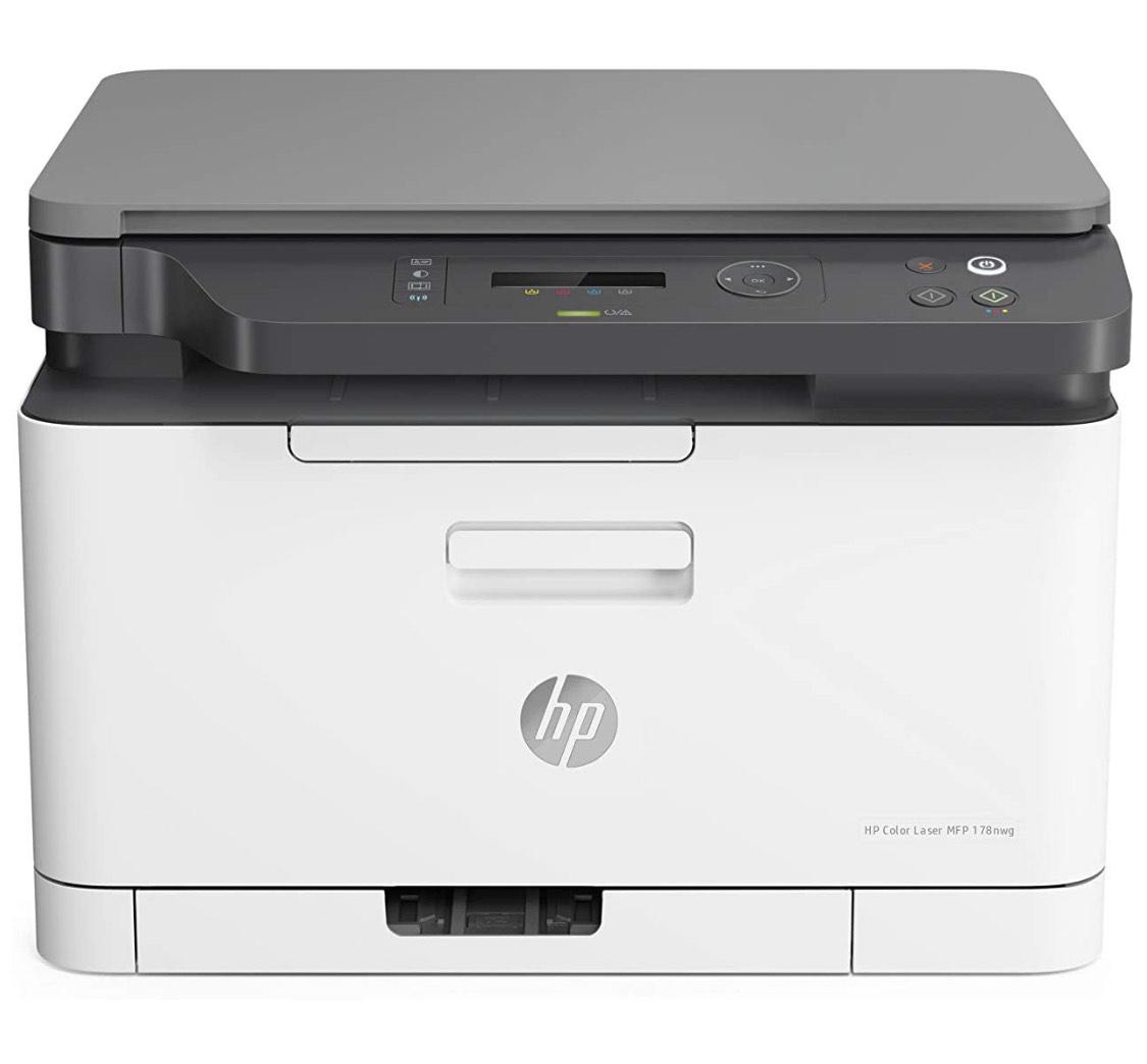 HP Color Laser 178nwg Multifunktions-Farblaserdrucker (Drucker, Scanner, Kopierer, WLAN, Airprint)