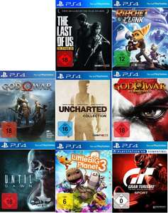 [MM & Saturn | Abholung | PS4] God of War | God of War III & The Last of Us Remastered | Until Dawn | Uncharted The Nathan Drake Collection