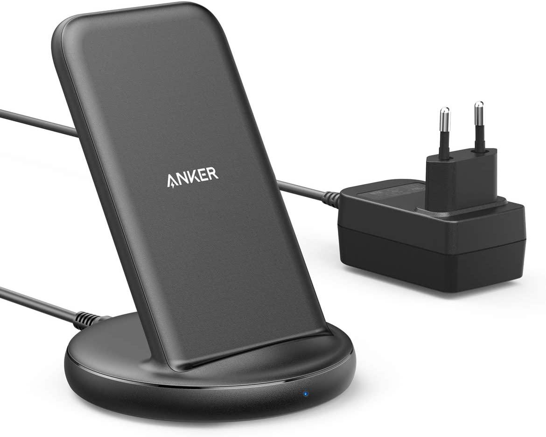 Anker PowerWave II Ladeständer für 33,74€ oder Anker PowerWave II Pad für 29,99€ (kabelloses Laden per Qi bis 15W)
