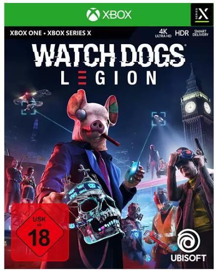Watch Dogs: Legion (Xbox Series X) für 16,99€ (Media Markt & Saturn Abholung)