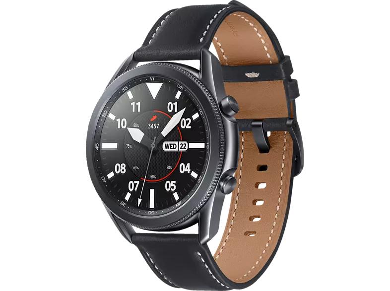 Samsung Galaxy Watch 3 45mm Bluetooth Mystic Black + Galaxy Buds bei Media Markt und Saturn + 10Euro NL Gutschein und ggf. 10Fach Payback