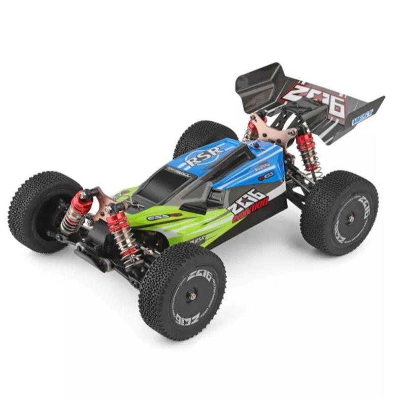 WL TOYS 144001 Rc Car mit Allrad Antrieb in grün - max speed 60km/h