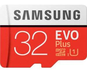 SAMSUNG Evo Plus, Mini-SDHC Micro-SDHC Speicherkarte, 32 GB, 95 MB/s [Saturn & Mediamarkt Abholung]