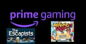 [Prime Gaming] Gratis - PC-Spiele im April 2021, z. B. Moving Out oder The Escapists