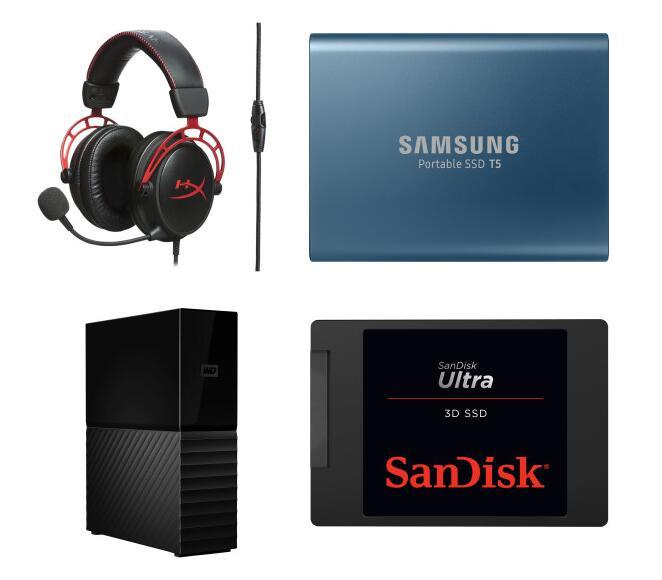 HYPERX Cloud Alpha Gaming Headset - 69€   WD MyBook 8TB (CMR) - 115€   Samsung Portable SSD T5 500GB - 59€   SanDisk Ultra 3D SSD 1TB - 85€