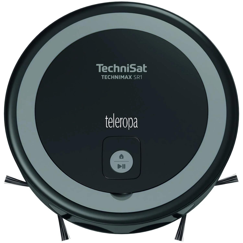TechniSat Technimax SR1 Saugroboter mit Lasernavigation (1850Pa Saugleistung, smarte Navigation, Alexa und App-Steuerung, Tierhaare)