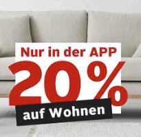 [Otto-App] 20 % auf Wohnen (Matratzen,Betten Möbel und vieles mehr) inc. Philips Hue und Sodastream-Produkte