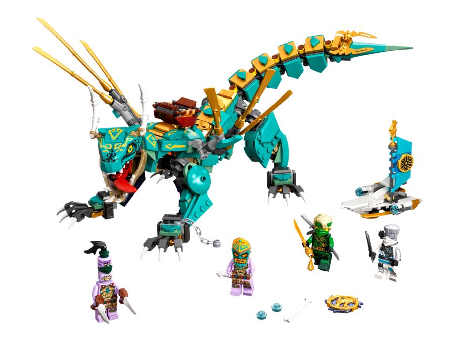 Legoland Shop kostenloser Versand bis 11.04. - Lego Ninjago 71746 Dschungeldrache 24,99 € (UVP 39,99)