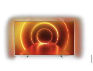 Philips 4K 50 Zoll Ultra-HD LED TV 50PUS7855 silber mit Ambilight
