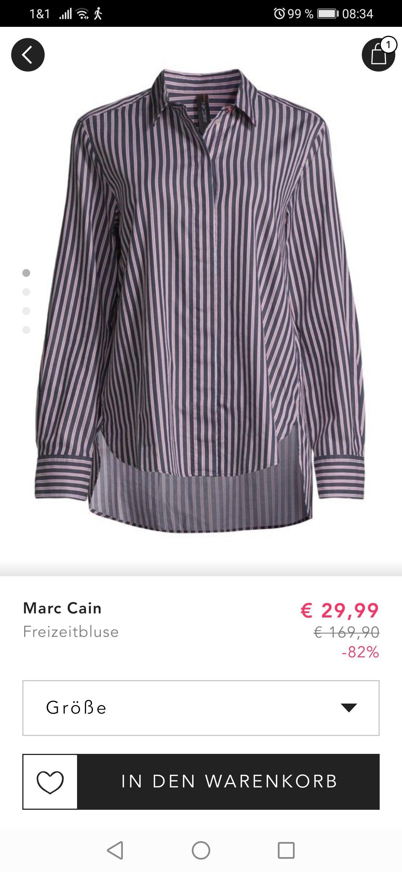 Marc Cain Bluse bei BestSecret in zwei Farben