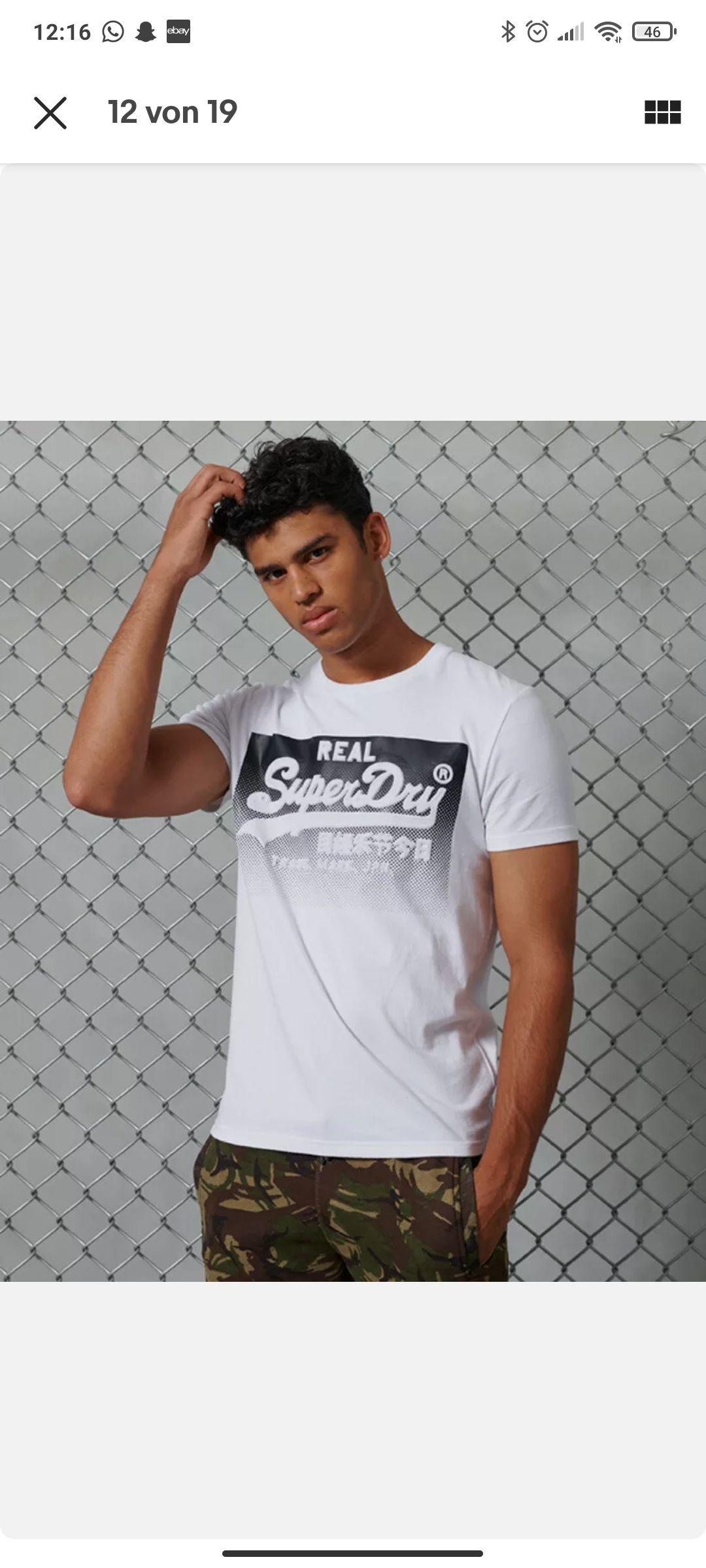 [eBay WOW] Superdry Shirts in 4 Farben für je 13,95 €