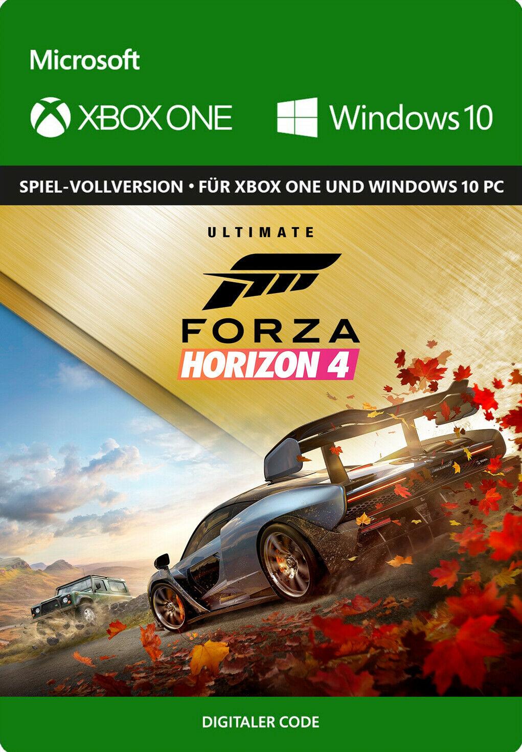 Forza Horizon 4 Ultimate Edition · Xbox One / Series X S & Windows 10 PC · Microsoft Store Island