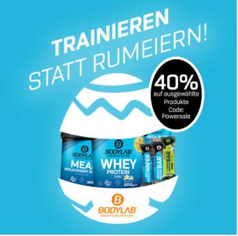 Bodylab24 - bis zu 40% Rabatt