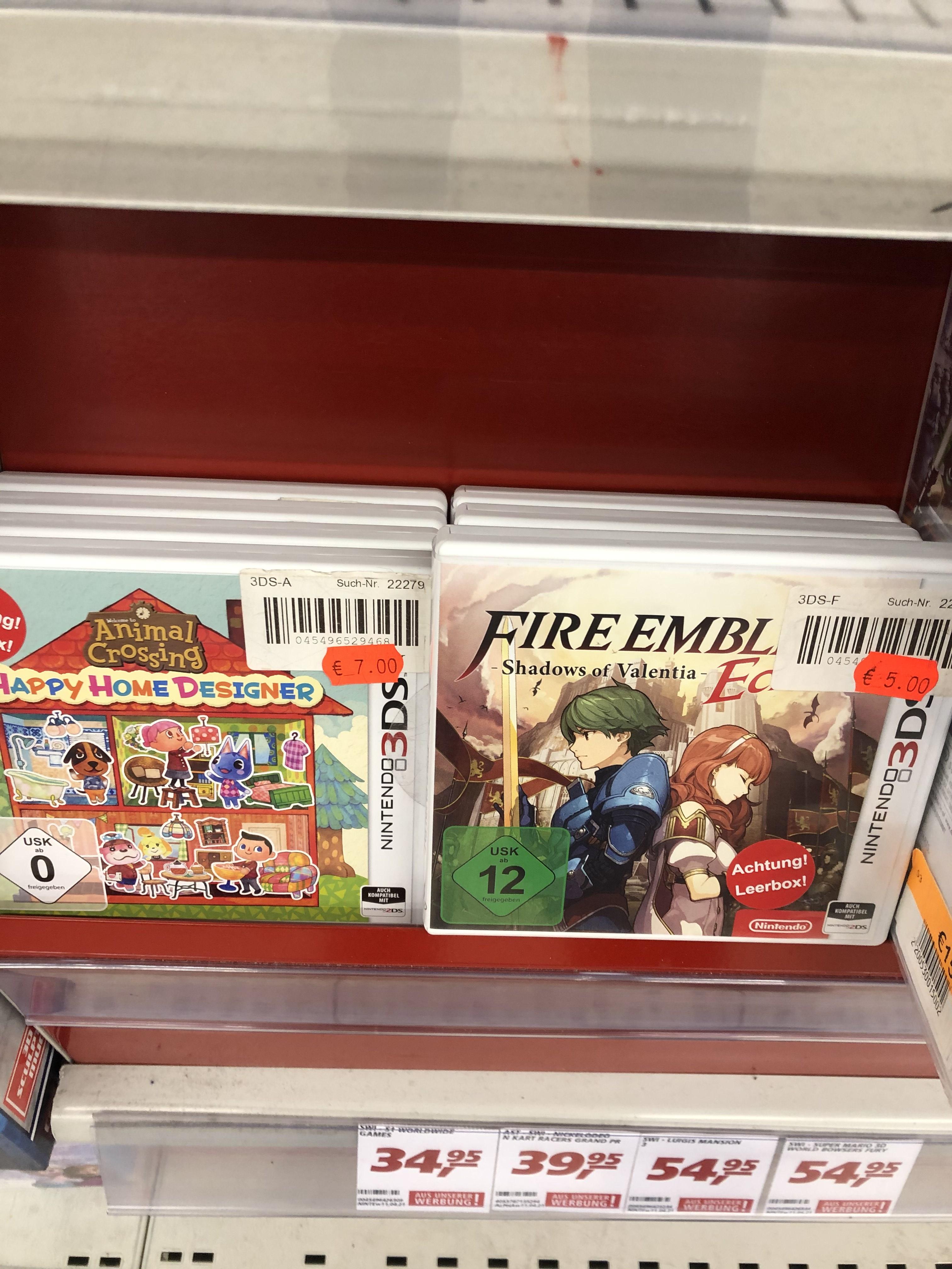 Fire Emblem Echoes: Shadows of Valentia [3DS] (Lokal Bielefeld)