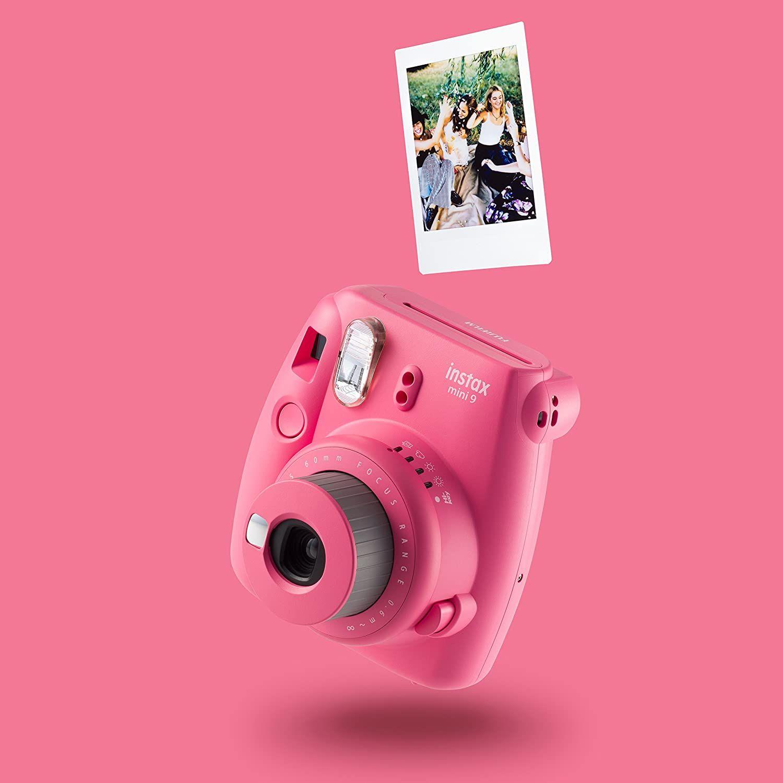 Fujifilm Instax Mini 9 Geschenkset, flamingo rosa [Amazon]