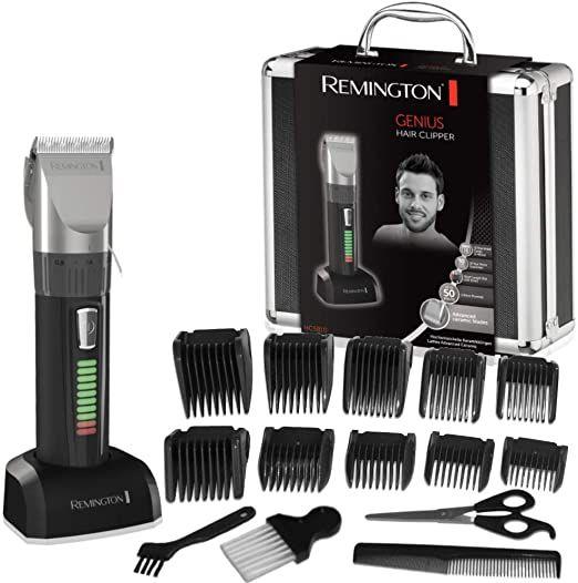 Remington Haarschneidemaschine HC5810 (selbstschärfende Keramikklingen, 10 Aufsteckkämme + Präzisionslängeneinstellung [Amazon Blitzangebot]