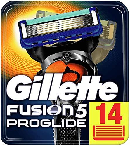 [Amazon] Gillette Fusion5 ProGlide Rasierklingen 14 Stück *Angebot + Sparabo*
