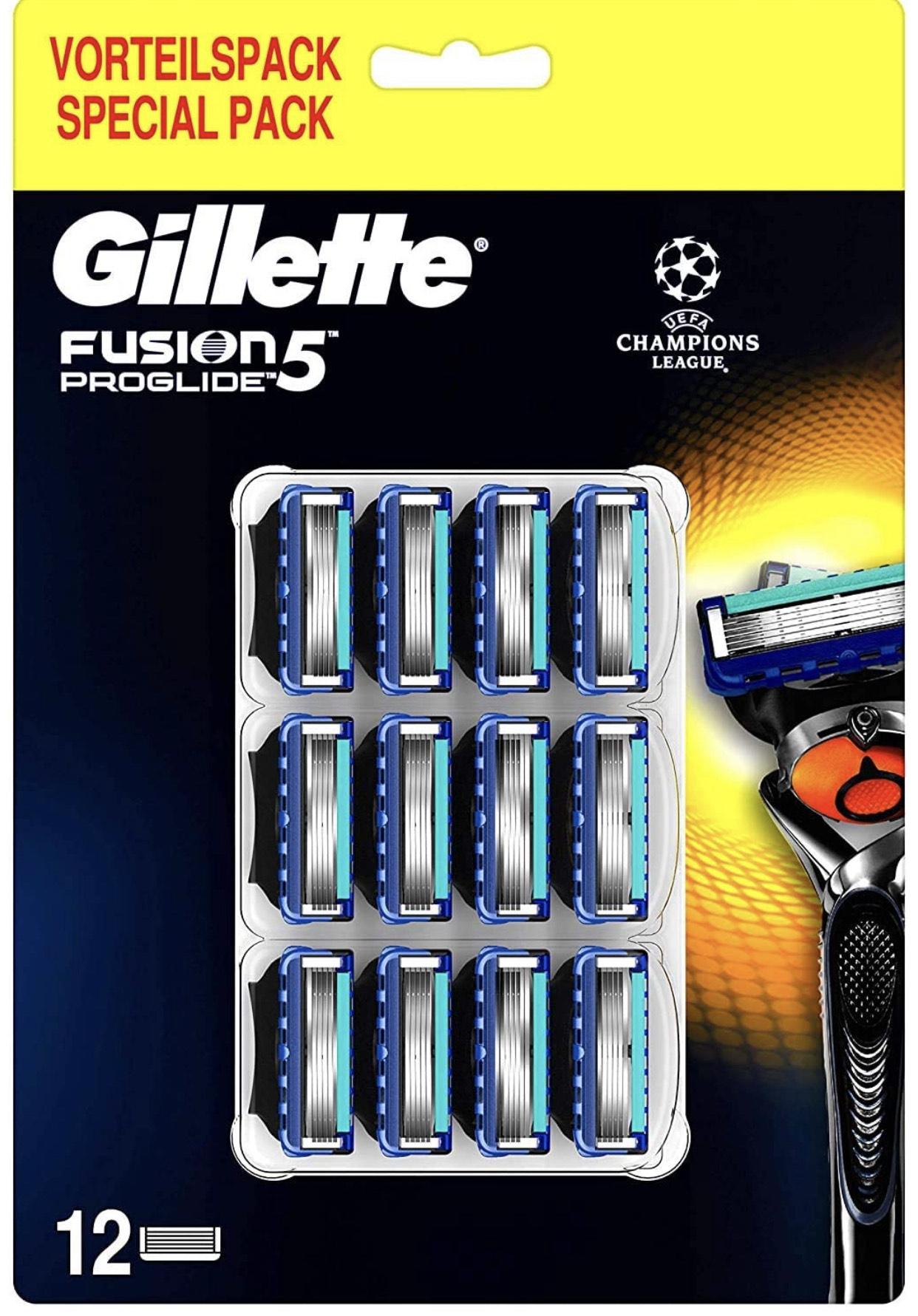 Amazon Personalisiert + Sparabo: Gillette Fusion 5 Proglide 12x