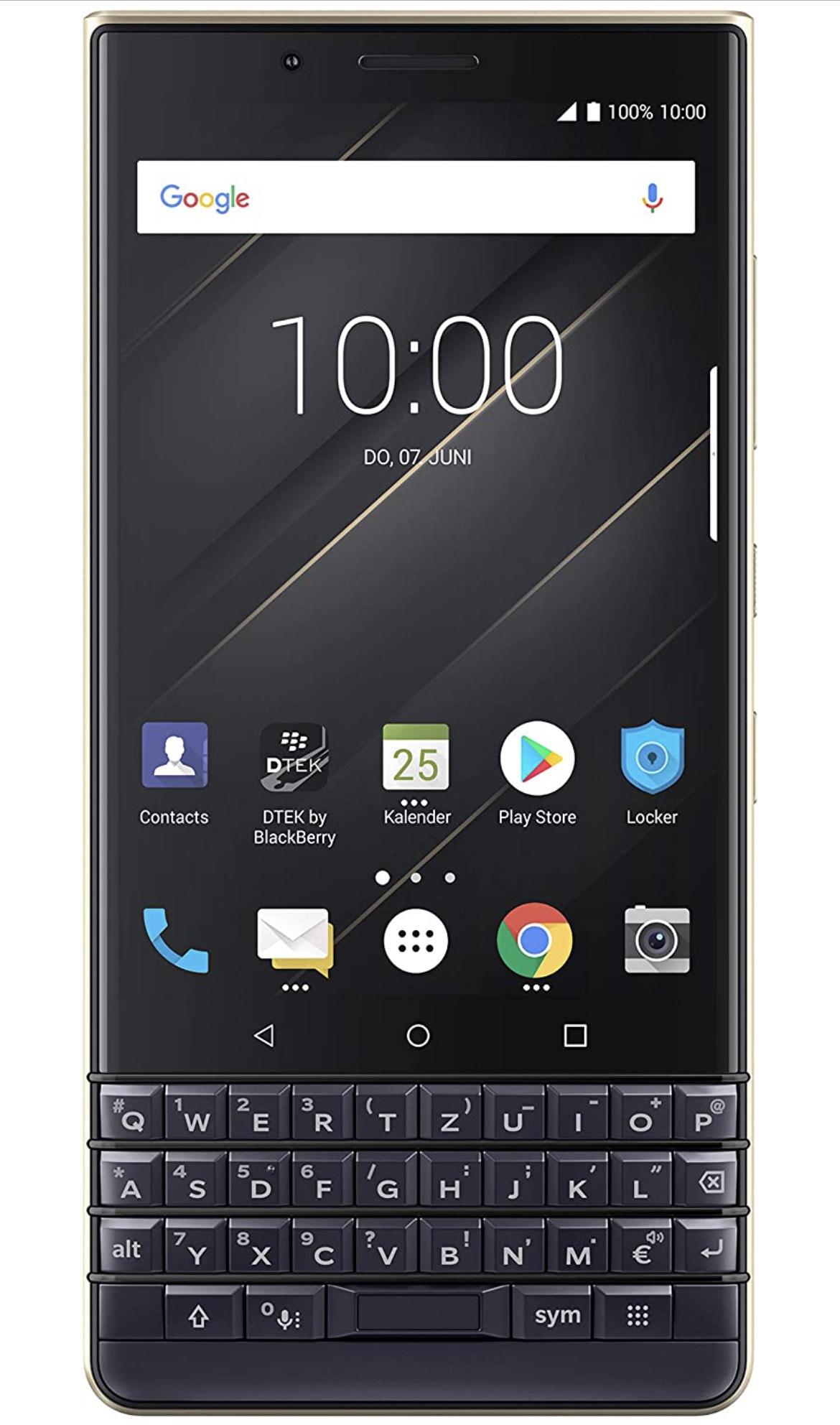 BlackBerry KEY2 LE, 64 + 4 GB, Dual-SIM Champagne