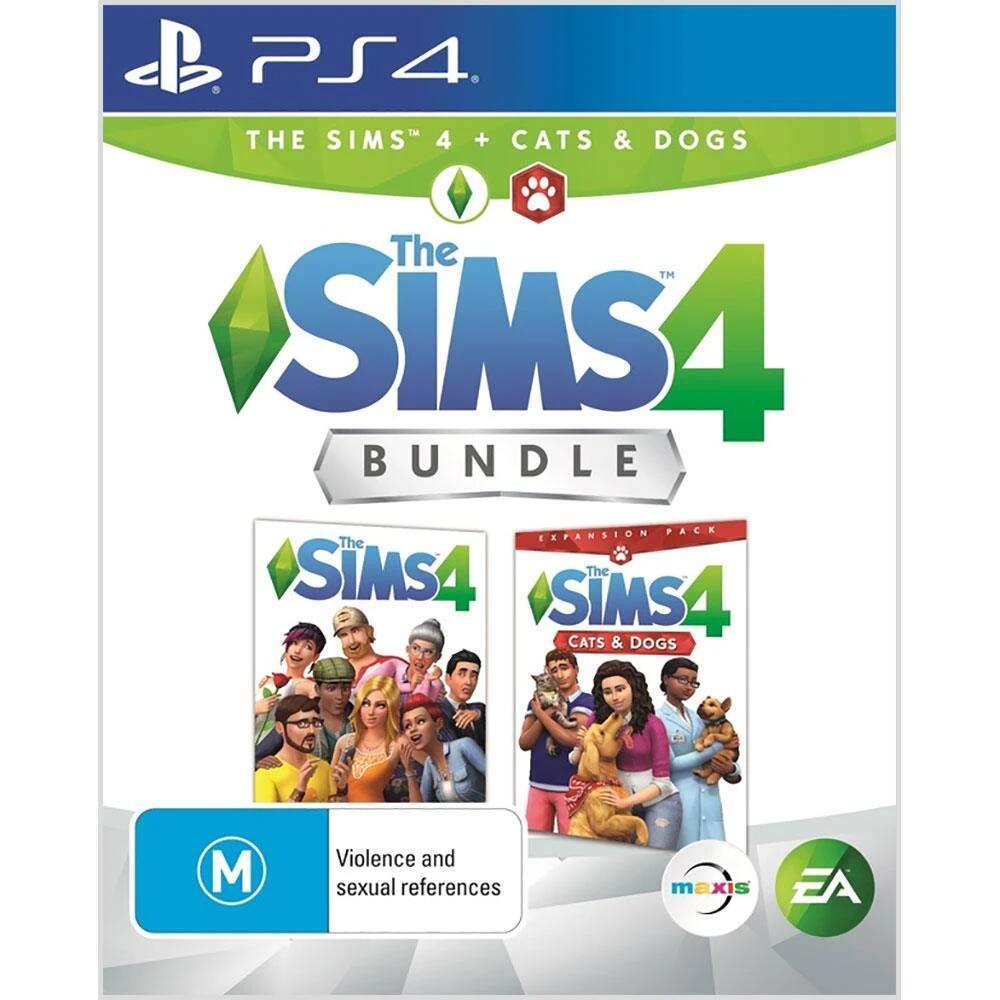 [PS4] Die Sims™ 4 plus Hunde & Katzen-Bundle €12.49 und Die Sims™ 4 Deluxe Party Edition €12.49