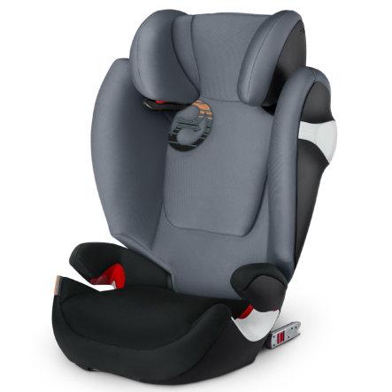 cybex GOLD Kindersitz Solution M-fix Pepper Black-dark grey / Manhattan Grey