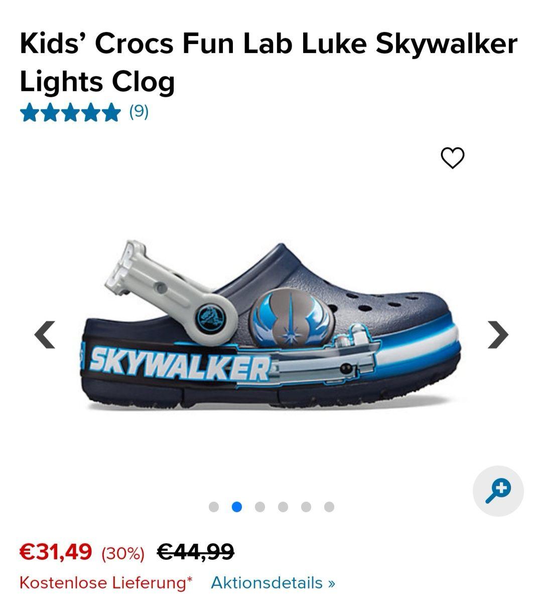 [Crocs] 30% auf alles + kostenloser Versand bei Crocs DE