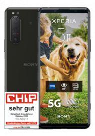 Sony Xperia 5 ii im O2 Free M (20GB LTE 225Mbit, Allnet/SMS, VoLTE) mtl. 29,99€ einm. 53,99€