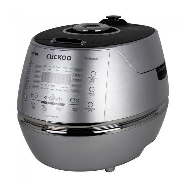 Cuckoo CRP-DHSR0609F Induktion Dampfdruck Reiskocher