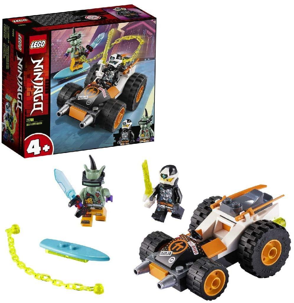 [Prime] Lego 71706 NINJAGO Coles Speeder, Prime Empire Rennwagen (52 Teile)