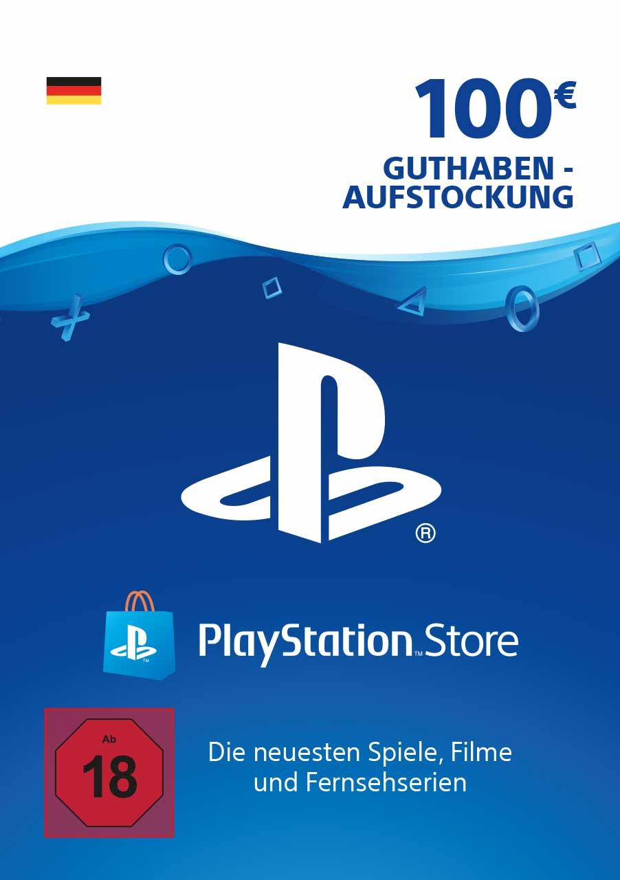 2x 100€ PlayStation Store Guthaben + Füllartikel (PSN Deutschland, Faktor 0.89)