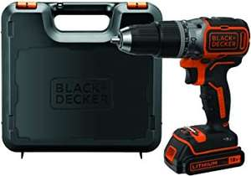 Black+Decker Akku-Schlagbohrschrauber (18 V 1,5Ah) BL188K - mit Koffer